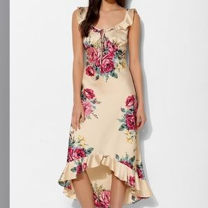 Betsey Johnson for UO Vintage Floral Midi Dress